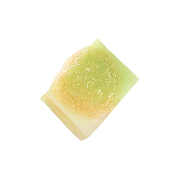 """Мыло с люфой """"Клевер и травяной чай"""" GLORIA 100г"""