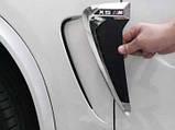 Накладки на крылья- жабры BMW X5 F15 M- Perfomance, фото 5