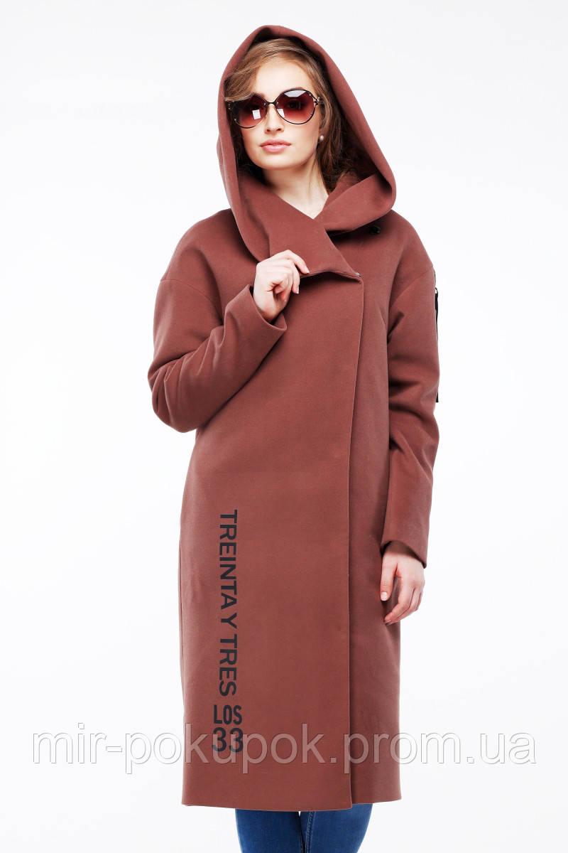 Демисезонное женское пальто Данелия, фото 1