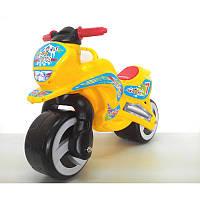 Каталка Мотоцикл желтый 11-006