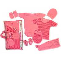 Детская одежда (Турция). Подарочный набор для новорожденных 7 предметов. Размер 0-3 мес.
