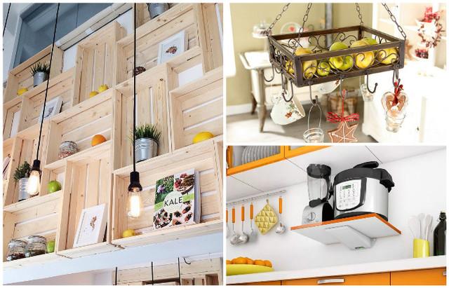 15 оригинальных и практичных полок для кухни, которые отлично оптимизируют пространство