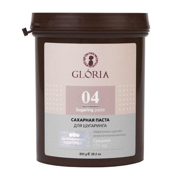 Паста для шугаринга GLORIA средняя 0,8 кг