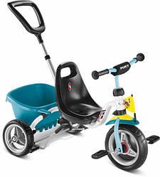 Трехколесный велосипед Puky CAT 1 S с премиальными литыми шинами