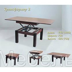 Стол трансформер 2 Редвуд