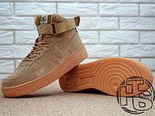 Мужские кроссовки реплика Nike Air Force 1 High '07 LV8 WB Flax 882096-200, фото 3