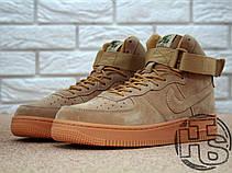 Мужские кроссовки реплика Nike Air Force 1 High '07 LV8 WB Flax 882096-200, фото 2