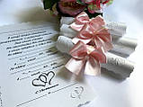 Свадебные приглашения на свадьбу Свитки , фото 3