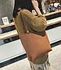 Большая стильная сумка с клатчем JingPin 2в1, фото 4