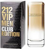 › Carolina Herrera 212 VIP Men Club Edition 100мл