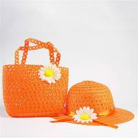 Яркий пляжный набор для маленькой модницы на 2-4 года, фото 1