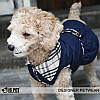 """Пальто, платье стеганное теплое """"Леди"""" для собак Is Pet. Одежда для собак, фото 2"""