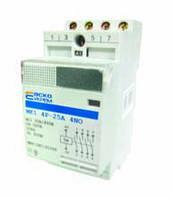 Модульный контактор MK1 4p 20A 4NO