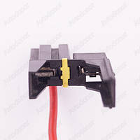 Разъем электрический 2-х контактный (34-12) б/у