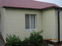 Облицовка фасадов виниловым сайдингом (навесной вентилируемый фасад)