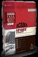 Сухой корм для взрослых собак всех пород ACANA Sport&Agility 17 кг.