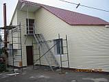 Облицовка фасадов виниловым сайдингом (навесной вентилируемый фасад), фото 2