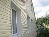 Облицовка фасадов виниловым сайдингом (навесной вентилируемый фасад), фото 5