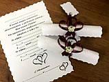 Пригласительные  на свадьбу ручной работы, Свитки , фото 2
