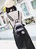 Милые бархатные \ велюровые рюкзаки с помпоном, фото 3