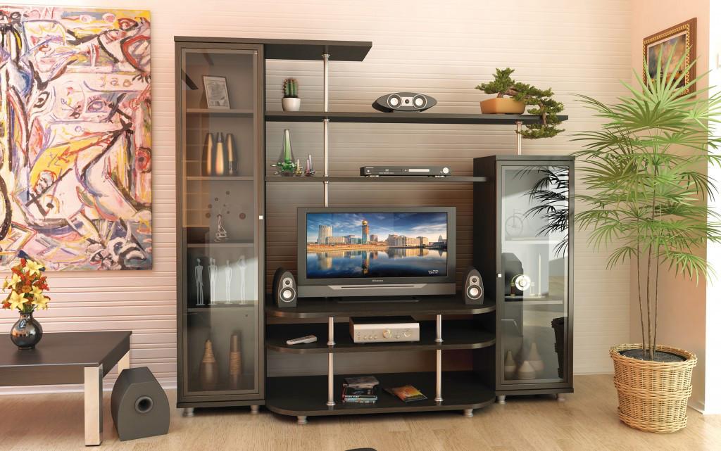 Стінка для вітальні (стенка, гостиная) Ріо-1 Мебель Сервіс