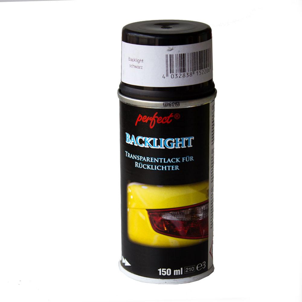 Краска-лак для тонирования фонарей PERFECT 150 мл черный