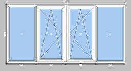 Балкон Опентек,лоджия Openteck с двухкамерным стеклопакетом