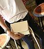 Милая сумка сундучок с бантиком под крокодил, фото 4