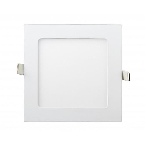 Светильник ЛЕД 9Вт врезной квадрат 4200К LED точечный