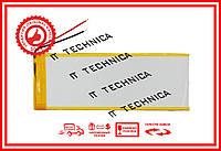 Батарея для планшета 3,7V 142x53x2mm 2pin 6500mAh