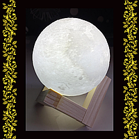 3D ночник Moon Lamp 8 см