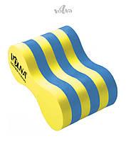 Колобашка для плавания Volna Pullboy-3 (Yellow/Blue)