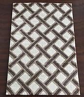 Ковер ворсистый ромбиками, ковер на пол, ковры в зал  , фото 1