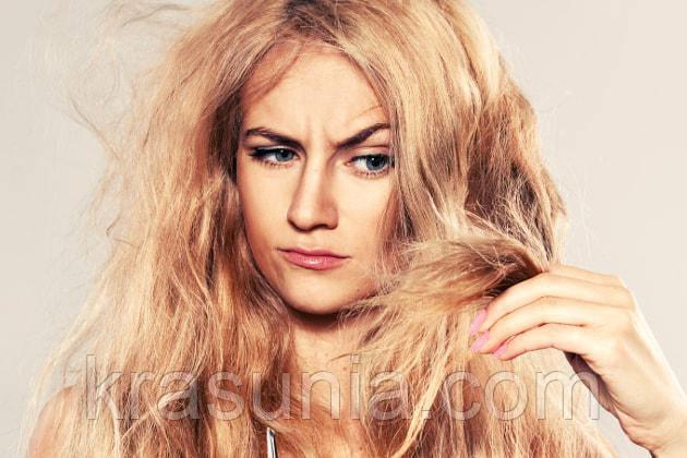 Питаем и увлажняем сухие и ломкие волосы