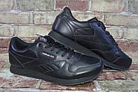 Большие размеры! Мужские кожаные кроссовки Reebok Classic Leather Рибок