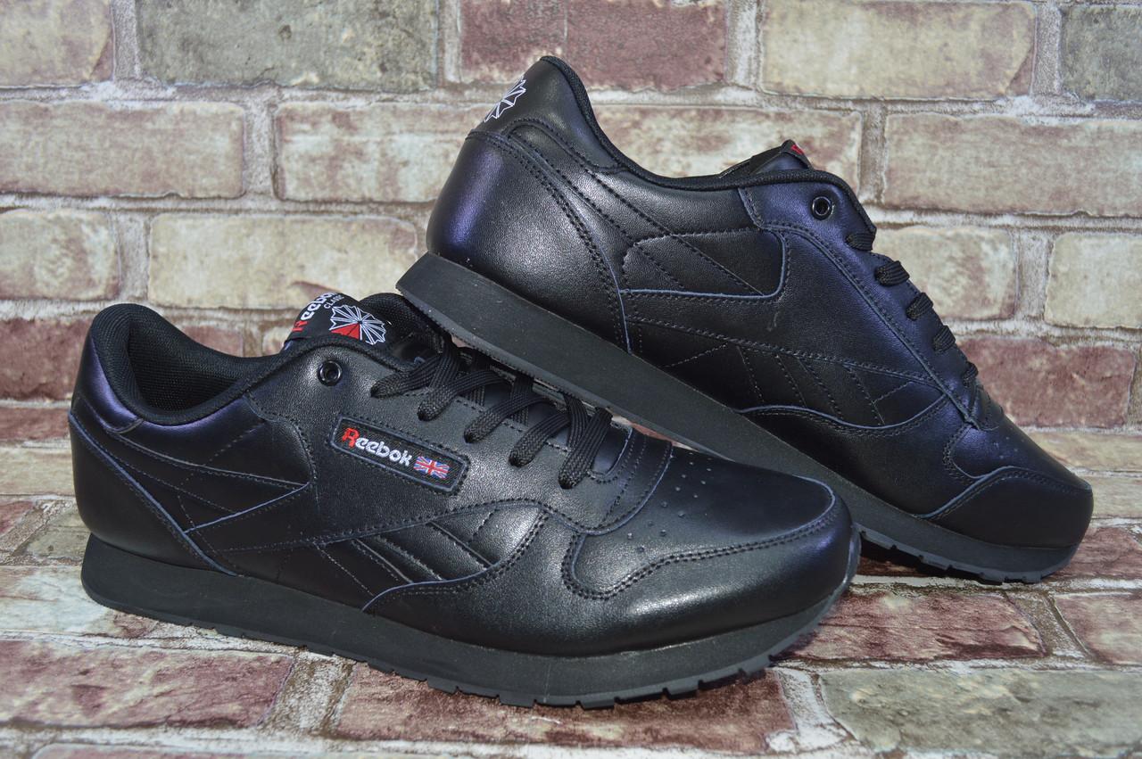 a83d78294937 Большие размеры! Мужские кожаные кроссовки Reebok Classic Leather ...
