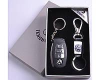 Подарочный набор (Volkswagen) 2в1 Зажигалка, Брелок №4430-7