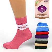 Женские махровые носки Korona B2025. В упаковке 12 пар
