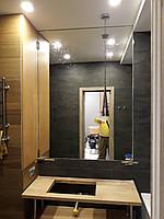 Зеркало в ванную под заказ по размерам
