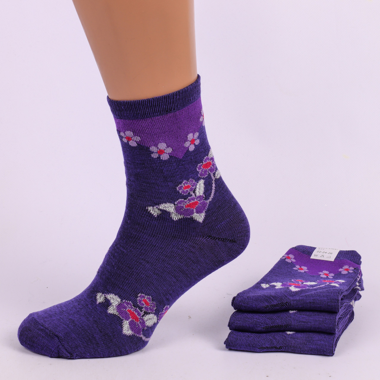 32b6e45d9d68 Самые дешёвые цены на носки CN-001-11. В упаковке 12 пар