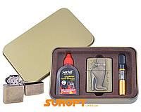 Подарочный набор SEXY 3в1 Зажигалка, бензин, мундштук №4713-8