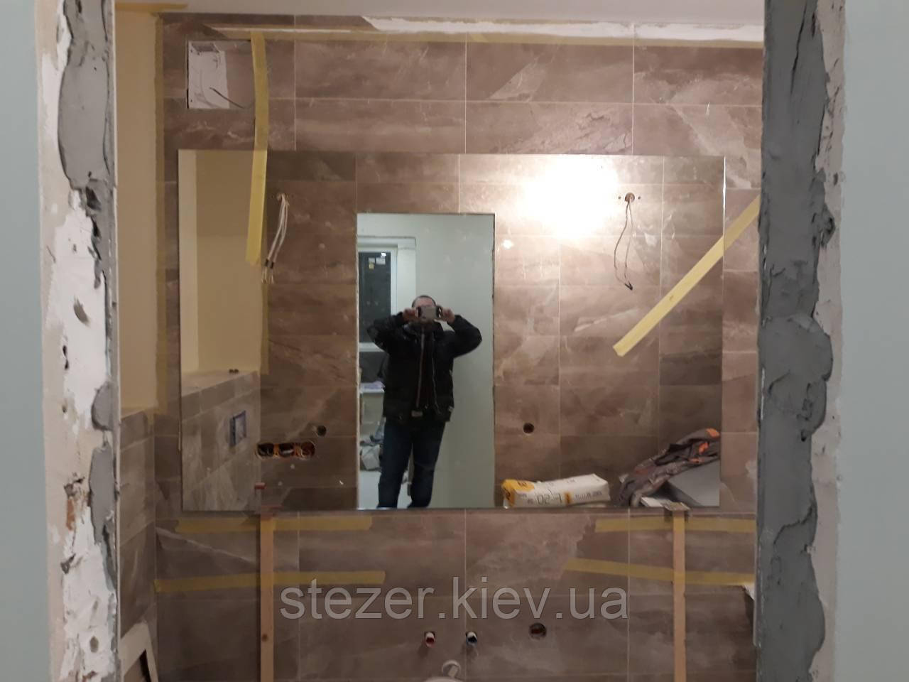 Заказать зеркало в ванную по размерам