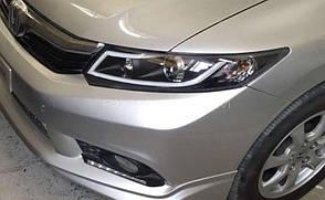 Штатная для Honda Civic LED головная оптика JY type 2012 по 2013