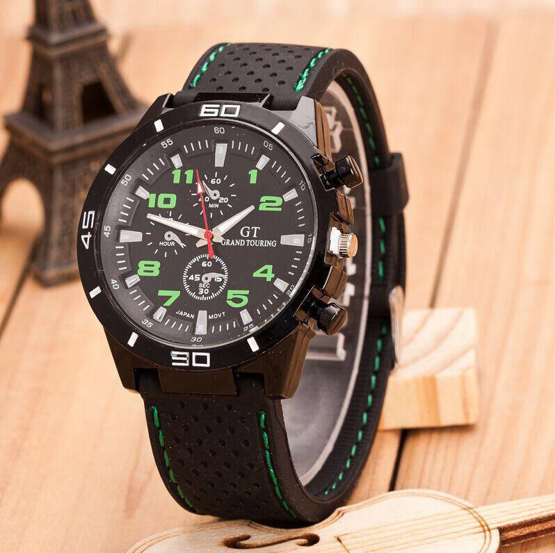 Часы мужские наручные GT Drive green