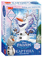 "Набор для творчества ""Картинки из пайеток. Frozen. Олаф"""