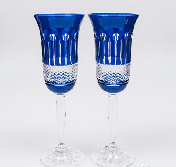 Свадебные бокалы хрустальные (180 мл/2шт.) Julia FS7418