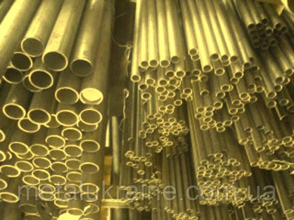 Труба латунная Л63 25х3 мм полутвердая