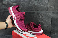 Мужские кроссовки Nike Air Presto TP QS  малиновые