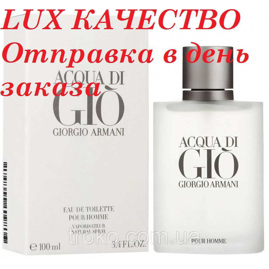 Туалетная вода для мужчин Acqua di GioGiorgio Armani 100 мл