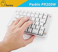 Клавиатура игровая проводная Parblo PR200W (для работы с графическими планшетами, а также для геймеров)
